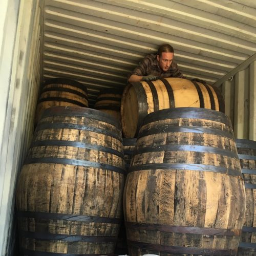 Whisky Barrels   Thompson Bros
